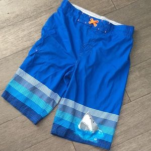 Boys swim shorts blue XL 16